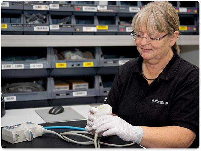 Secondlife transducer repair